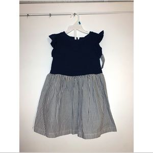 Carter's 24m Navy & White Fit & Flare Dress
